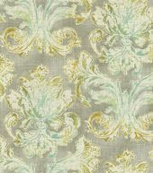 Home Decor 8''x 8'' Fabric Swatch Print-Waverly Classic Curves Cir Platinum