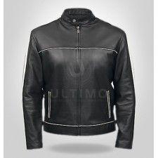 Black Women Classic Stylish Leather Jacket