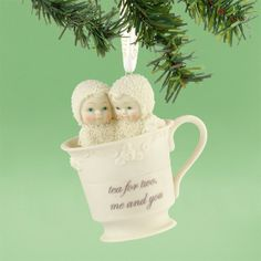 Tea For Two Ornament