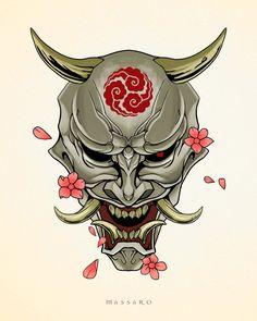 Oni mask posible tatuajr – Tattoo-Ideen – Good things to share Oni mask posible tatuajr – Tattoo-Ideen Oni mask posible tatuajr – Tattoo-Ideen , Samurai Maske Tattoo, Hannya Maske Tattoo, Oni Mask Tattoo, Oni Samurai, Tattoo Mascara, Mascara Oni, Kunst Tattoos, Irezumi Tattoos, Body Art Tattoos