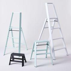 Lucano Lightweight Japanese Step Ladder on Food52 Kitchen Organization, Kitchen Storage, Kitchen Tools, Kitchen Ideas, Fine Furniture, Furniture Decor, Kitchen Step Ladder, Ladder Stands, Viking House
