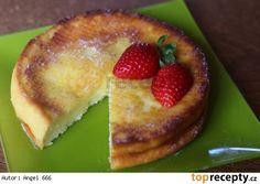 Japonský tvarohový koláč bez mouky