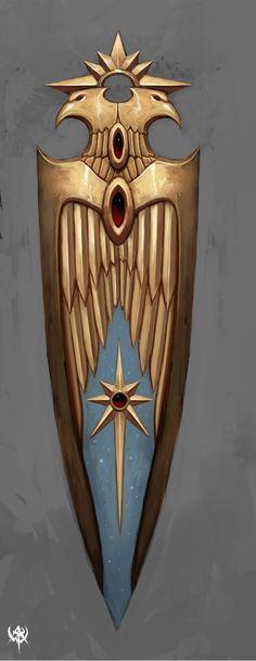 Escudo dos membros da Guarda Imperial