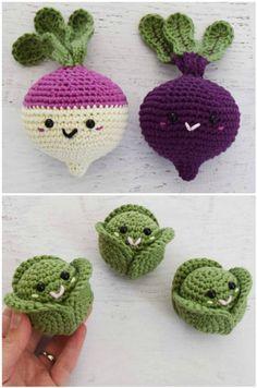 Crochet Fruit And Vegetable Patterns All The Best Ideas Häkeln Sie Obst und Gemüse Muster This image has get Crochet Fruit, Crochet Food, Crochet Gifts, Crochet Flowers, Kawaii Crochet, Cute Crochet, Knit Crochet, Crochet Cake, Crochet Patterns Amigurumi