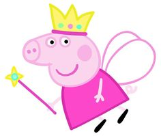 My daughter loves Peppa Pig, so her birthday theme was a no-brainer. But imported party supplies are expensive and caterers are not familiar with Peppa yet, so it is up to me to DIY this event. Peppa Pig Princesa, Bolo Da Peppa Pig, Cumple Peppa Pig, Peppa Pig Printables, Party Printables, Free Printables, Pig Birthday, 3rd Birthday Parties, Princess Peppa Pig Party