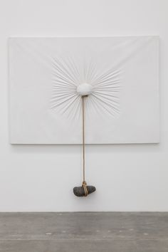 Nobuo Sekine / Phase of Nothingness-Cloth and Stone, 1970/1994