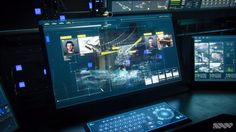 Call of Duty: Advanced Warfare interface designs, work by SPOV