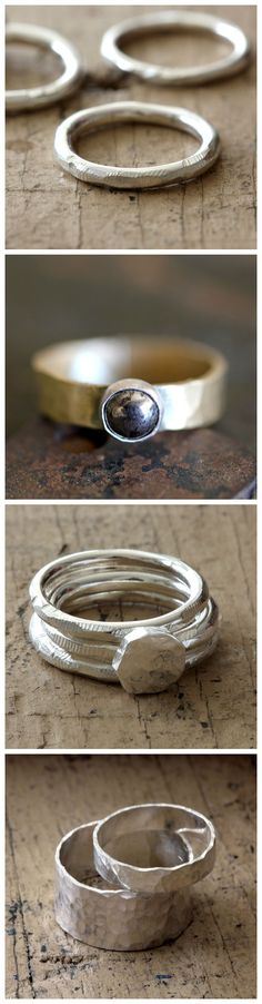 New Rings from Praxis Jewelry
