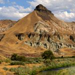 Sheep Rock Unit at John Day Fossil Beds National Park, Can not wait to check it out 8/12