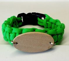 "Lime Green 7 3/8"" Black Buckle"