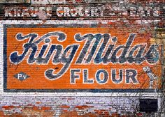 King Midas Flour, Krause Grocery & Meats store located at 853 Williamson Street in Madison, Wisconsin. Photo by Todd Klassy.