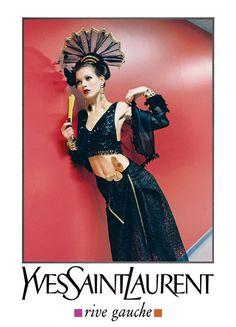 Yves Saint Laurent - Publicité Mode - Rive Gauche - 1993 Ysl, Helmut Newton, 73293ae4e88