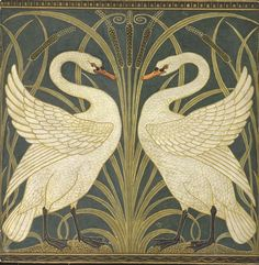 Crane Achieved International Popularity Designing Art Nouveau Textiles And Wallpapers But Is Chiefly Known For His