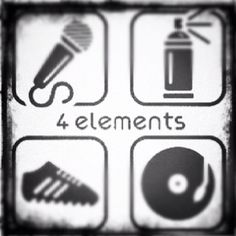 Back to the basics! Four Elements of Hip Hop Culture in-case you forgot  #hiphop