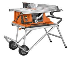 Jet® 10'' Jobsite Table Saw w/Retractable Stand | Woodworking ...