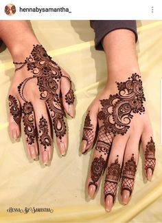 Henna design by Henna Art Designs, Mehndi Designs For Beginners, Modern Mehndi Designs, Mehndi Design Pictures, Mehndi Designs For Fingers, Beautiful Mehndi Design, Latest Mehndi Designs, Wedding Henna Designs, Mehndi Images