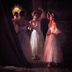 Photograph Behind the scene. La Sylphide by Elena Lekhova on 500px
