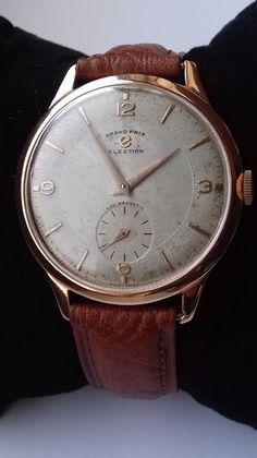 9b5185d8b7c Currently at the  Catawiki auctions  Election - Grand Prix – JUMBO – 39mm –  · Relógios AntigosGrande PrêmioLeilão
