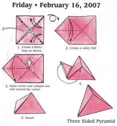 Origami Design, Diy Origami, Chat Origami, Origami Simple, Origami Star Box, Origami And Kirigami, Paper Crafts Origami, Origami Stars, Dollar Origami
