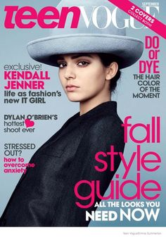 Kendall Jenner Lands TWO Teen Vogue Covers for September 2014