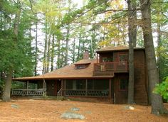 The cabin from the film On Golden Pond-Exterior as it is today