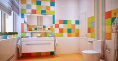 Дизайн-проекти ванних кімнат - Приклади робіт - Фото - Поради по дизайну ванних - Продумати меблювання, розкладку плитки і підведення сантехніки самостійно дуже складно. Вирішити ці питання Вам допоможе студія Інтер'єр-Ідея