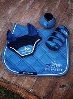 Tapis De Selle Point Sellier Bleu Roi Paddock Sportspenelope