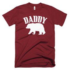 Daddy Bear Short sleeve men's t-shirt