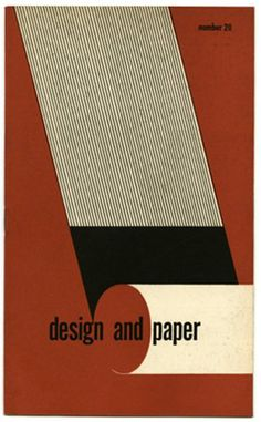 [Office of  War Information] P. K. Thomajan [text] and Henry N. Russell [layout and design]: DESIGN AND PAPER NUMBER 20. New York: Marquardt & Company Fine Papers, n. d. [c. 1945].
