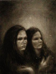 Blind I  Oil on canvas  © Patricia Benitez