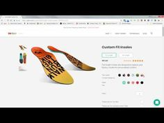 How cool. Made to order custom 3D insoles!!! www.wiivv.com. Enter scheck20 at checkout to save 20% on your order.