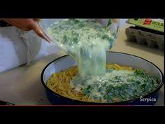 Rucak jeftin i brz za celu porodicu. Spanac jogurt makaroni - YouTube Serbian Recipes, Turkish Recipes, Italian Recipes, Ethnic Recipes, Spanish Dishes, Ciabatta, Palak Paneer, Chicken Recipes, Food And Drink