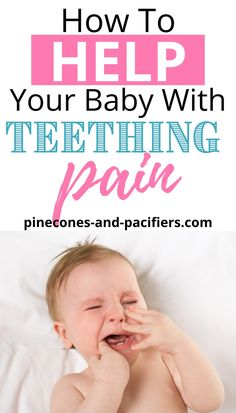 Teething stinks! It seems like your baby is always teething and they will for their first few years of life. I'm sharing a list of baby teething toys and tips to help soothe your baby's teething pain. Favorite teething toys from a mom of two. #baby #teethingtips #babyteething Baby Teething Remedies, Teething Relief, Baby Hacks, Baby Tips, Mom Hacks, Best Teething Toys, Baby Medicine, Breastfeeding And Pumping, First Time Moms