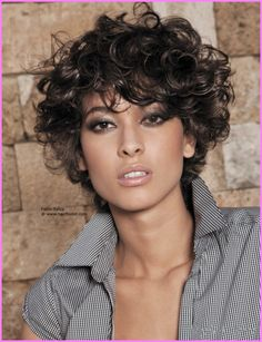 SHORT CUTS FOR NATURAL CURLY HAIR - http://stylesstar.com/short-cuts-natural-curly-hair.html