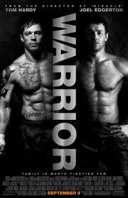Warrior  Yup I know another Tom Hardy movie but man was this a good one!!  Not gonna lie there was a sad part that brought me to a tear (lol not tears).  But overall a really good movie :)  OH and I have to mention that Jennifer Morrison was in it too!!