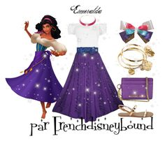 """Esmeralda (the hunchback of Notre Dame)"" by frenchdisneybound ❤ liked on Polyvore featuring WearAll, Vera Bradley, Alexa Starr, Michael Kors, disney, disneybound and thehunchbackofnotredame"