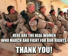 'Nuff said !!! Thank you ladies...forever grateful for your service and sacrifices !!! ❤