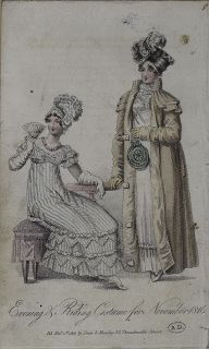 Diary of a Mantua Maker: Regency Evening Gown 1816: Designing