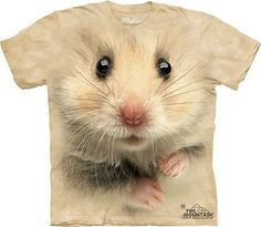 Big Face Hamster T-Shirt