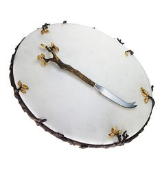 L'OBJET: 'Mullbrae' Cheese Serving Set (www.l-objet.com)