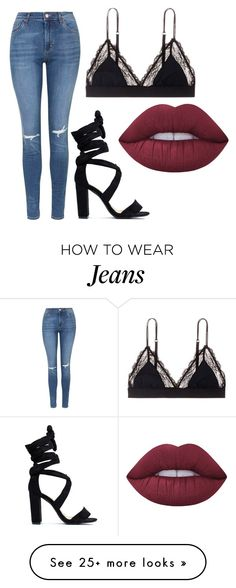 """Untitled #480"" by celia-houston on Polyvore featuring LoveStories, Topshop and Lime Crime"