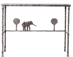 Diego Giacometti - Table with Elephant