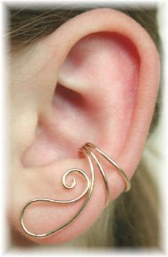 I'm kind of obsessed with ear wraps right now.