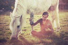 girl, horse, photography