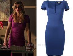 """Felicity wears DSquared2 in 3x19 """"Broken Arrows"""""""