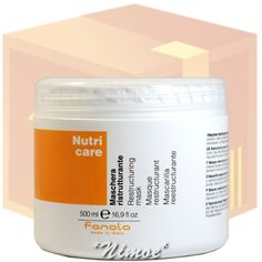 Nutri Care Restructuring Mask box 12 pcs x 500ml Maschera Ristrutturante Fanola®