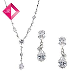 Aliexpress.com : Buy Free Shipping Neoglory Zircon Auden Rhinestone Alloy Plated Wedding Jewelry Set Necklace & Drop Earrings Sale Party Gift from Reliable jewelry set suppliers on NEOGLORY JEWELRY