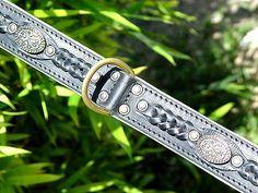 labrador collars   collar [C43##1026 Leather dog collar] : Labrador dog harness, Labrador ...