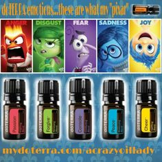 Doterra emotions kit...like inside out!