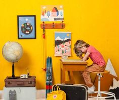 Brighten up your kids room (or any room) with these amazing prints
